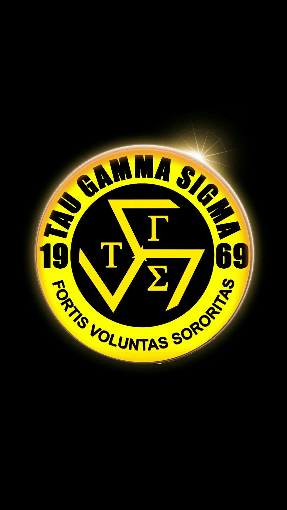 Triskelion Tau Gamma Wallpaper Gold 50 Android Iphone Sigma