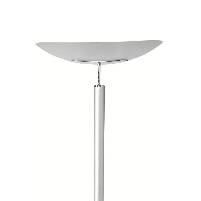 Kos Lighting-Unilux Büro Deckenfluter mit Glasschirm - Chrom ...