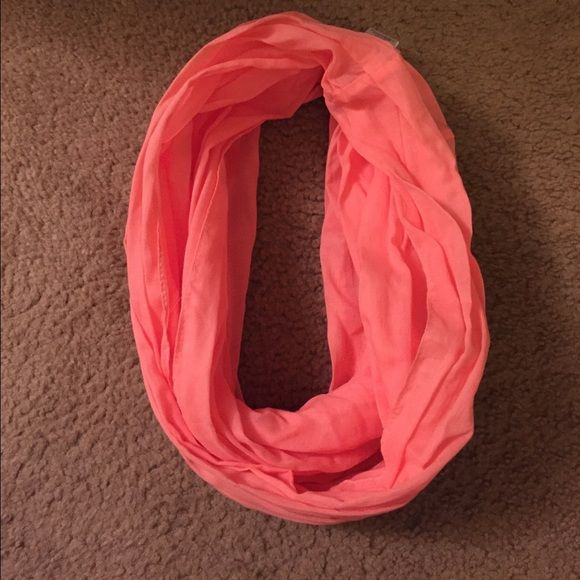 Infinity scarf 100% cotton Coral infinity scarf Accessories Scarves & Wraps