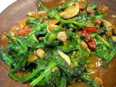 Resep Tumis Genjer Terasi Resep Masakan Cina Masakan Resep