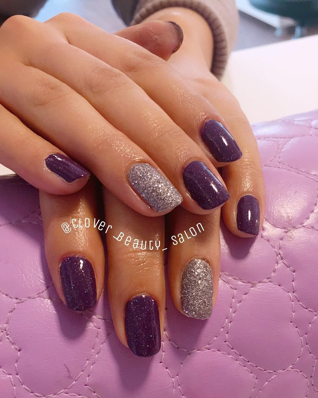 20 Simple Nail Art Designs 2019 Purple Nail Art Designs Purple