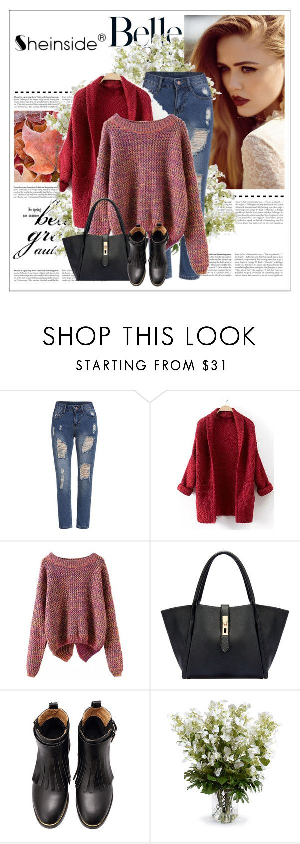 """""""Shein contest"""" by roemweestylist ❤ liked on Polyvore featuring New Growth Designs"""