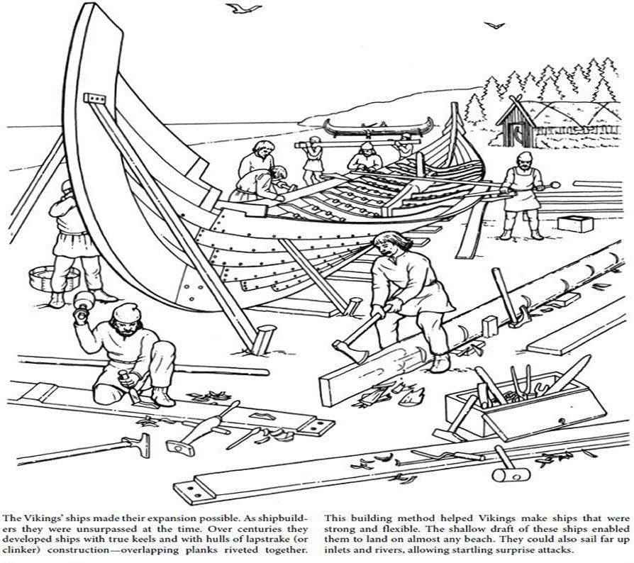 the vikings coloring pages - news