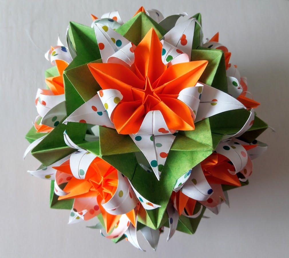 3d Origami Electra Crinum Carambola 3d Origami Art Studio