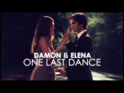 Hvornår begynder damon og elena at danse