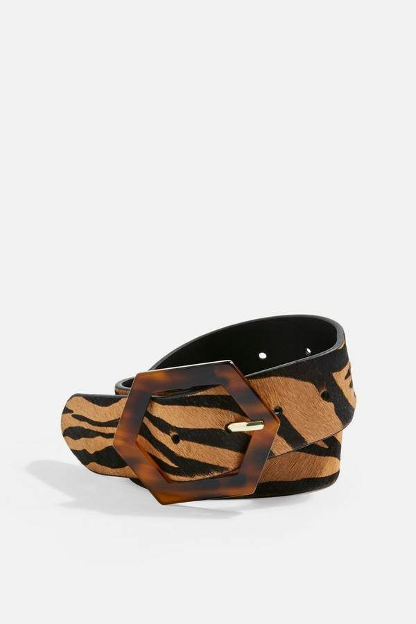 ee9d73517 Tiger Tortoiseshell Buckle Belt in 2019 | Products | Belt, Belt ...