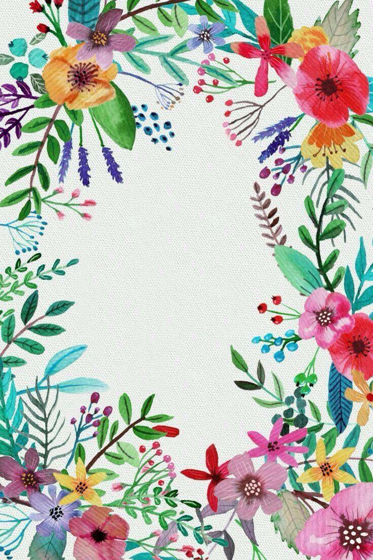 Pin By Meinesvenja On Zeichnungen Natur Floral Wallpaper Iphone Flower Wallpaper Floral Wallpaper