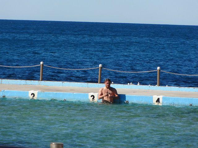 Dee Why Beach, ocean pool. Sydney