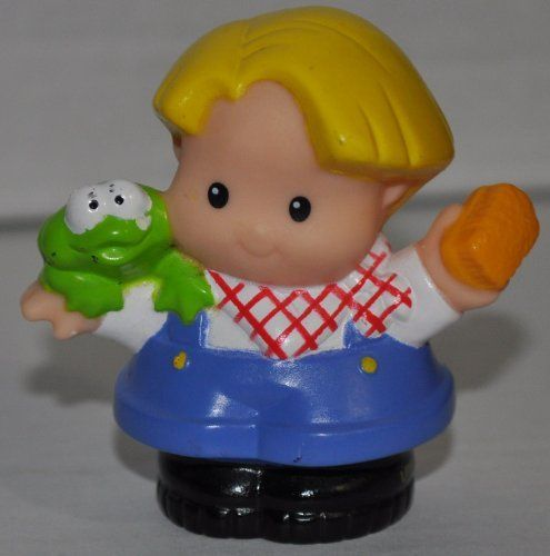 Replacement Figure Zoo Circus Ark Pet Castle Little People Farmer Eddie 2001 Classic Fisher Price Collectible Figures