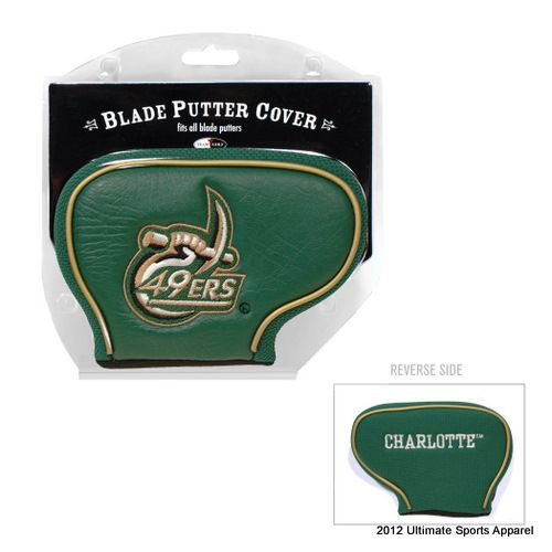 UNC Charlotte Blade Putter Cover  $15.99  Conference apparel | FREE Priority Mail Shipping | College Sports Apparel |