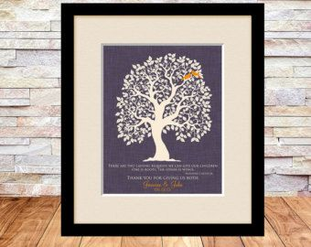 Thank You Gift for Groom\'s Mother Gift for by TheFreckledOwlPrints ...