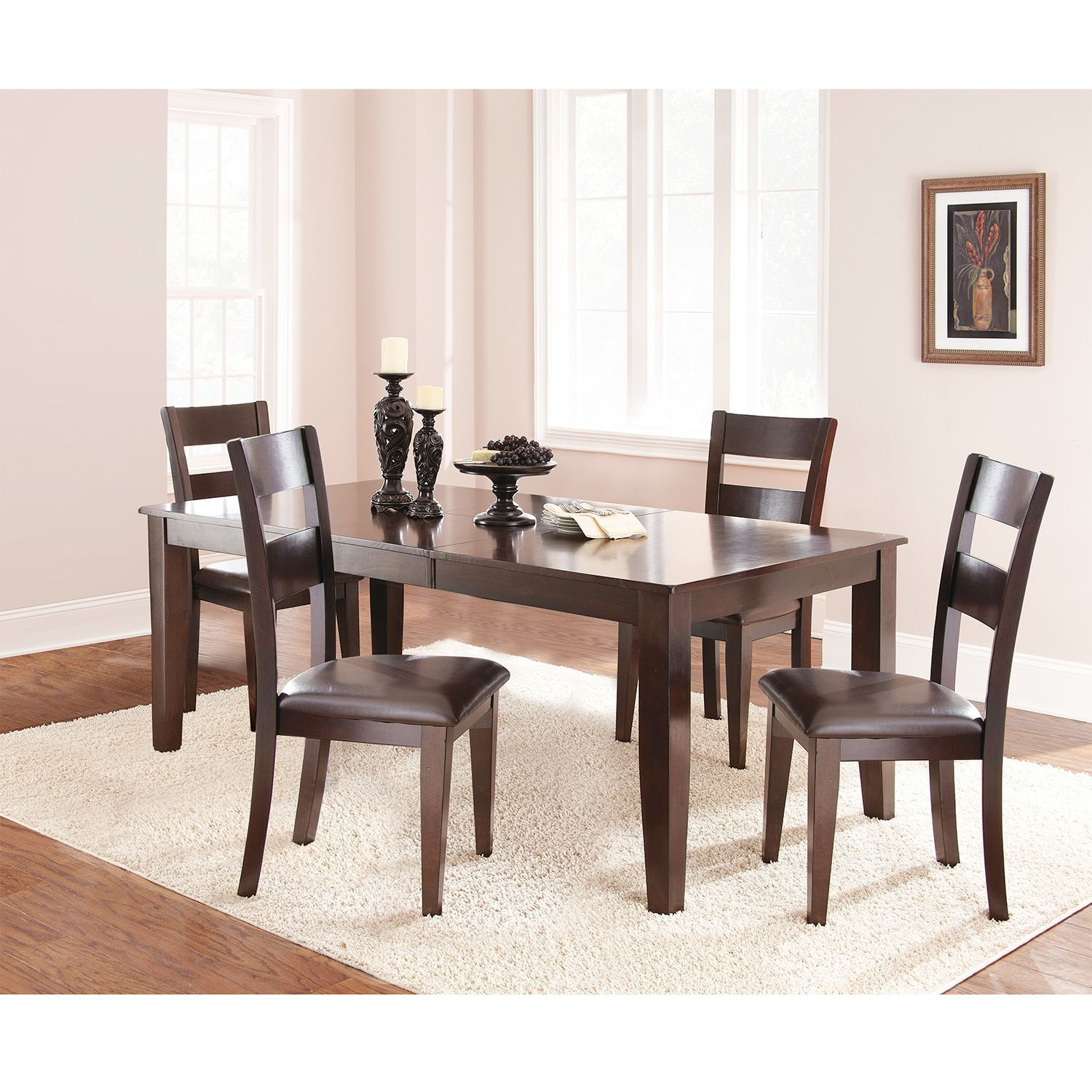 Weston 5 Piece Set By Lauren Wells   Espresso