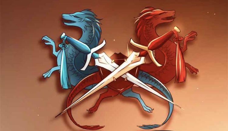 Azure Dragon Crimson Dragon Decor In 2020 Webtoon Comics Webtoon Anime Comics