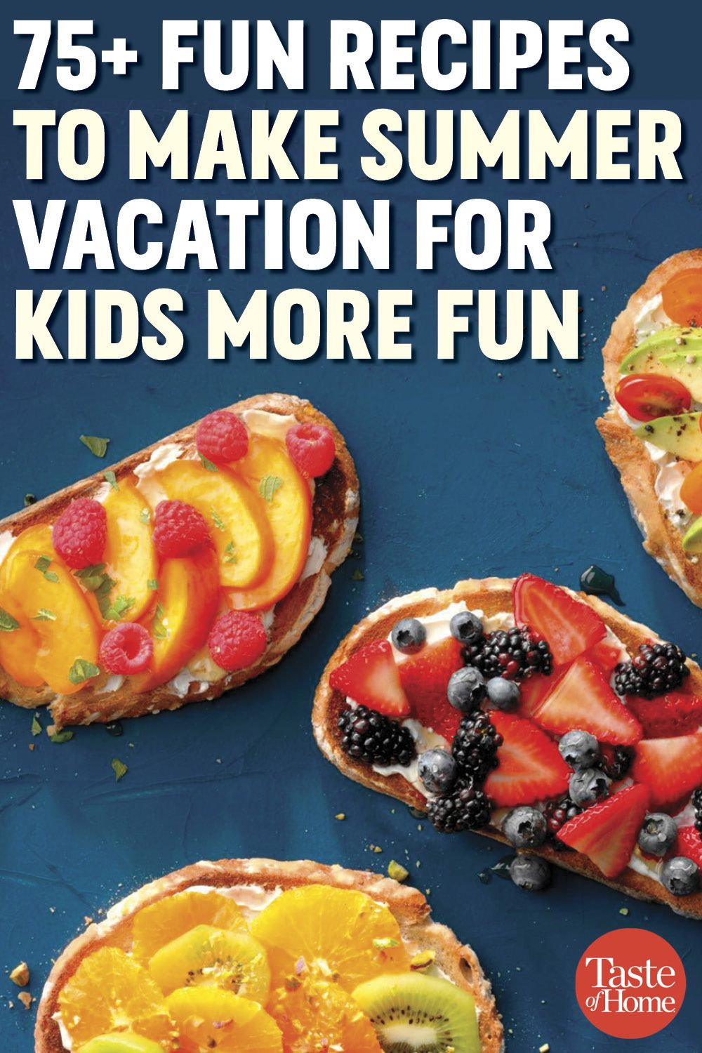 75+ Fun Recipes to Make Summer Vacation for Kids More Fun images