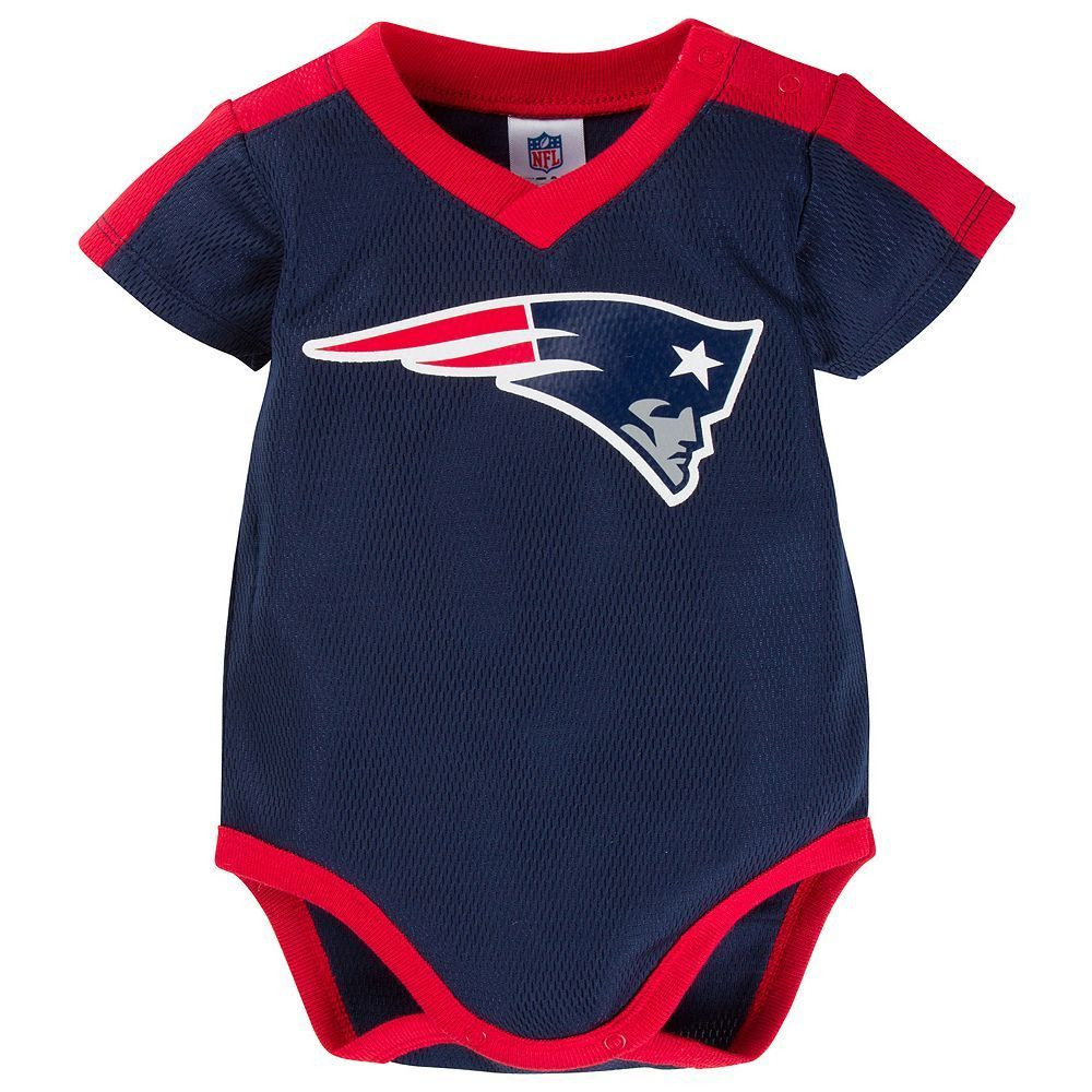 b69e5c40 Baby New England Patriots Jersey Bodysuit | Products | Jersey ...