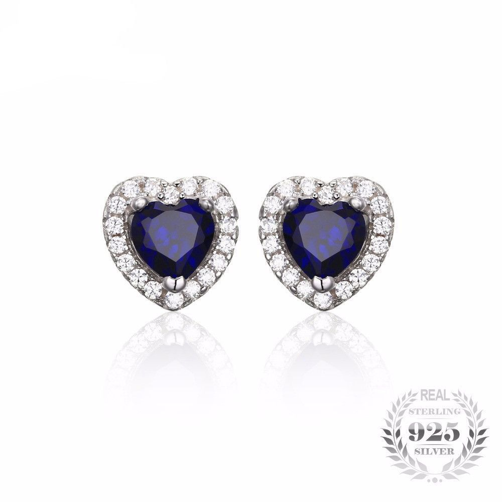 sapphire white ct pin artistry tdw blue diamond gold and collections