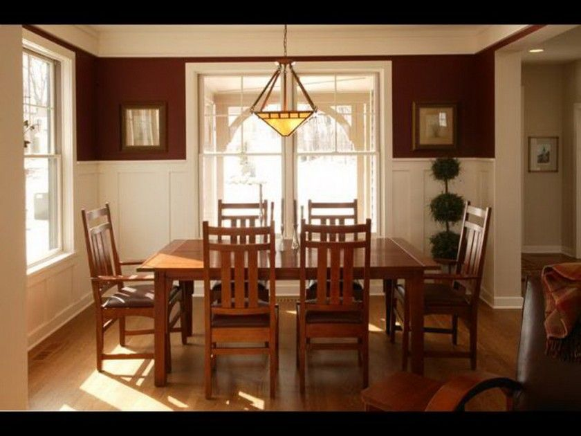 Extraordinary Luxurious Minimalist Design With Wooden Square Dining Table And Simple Six Wooden Dining Chair Also Beautiful Pendant Lamp And Charming Wooden Floor Plus White Wall And White Glass Windows Design Captivating For Dining Room Color Ideas