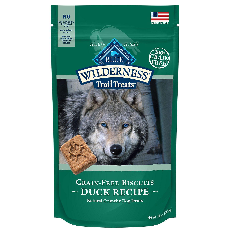 Blue Buffalo Blue Wilderness Trail Treats Duck Biscuits Dog Treats