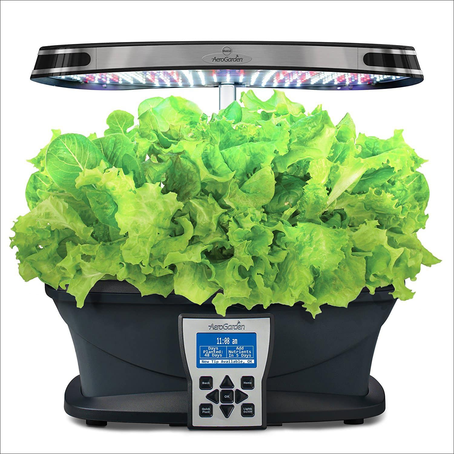 AeroGarden Ultra LED with Gourmet Herb Seed Pod Kit Herb