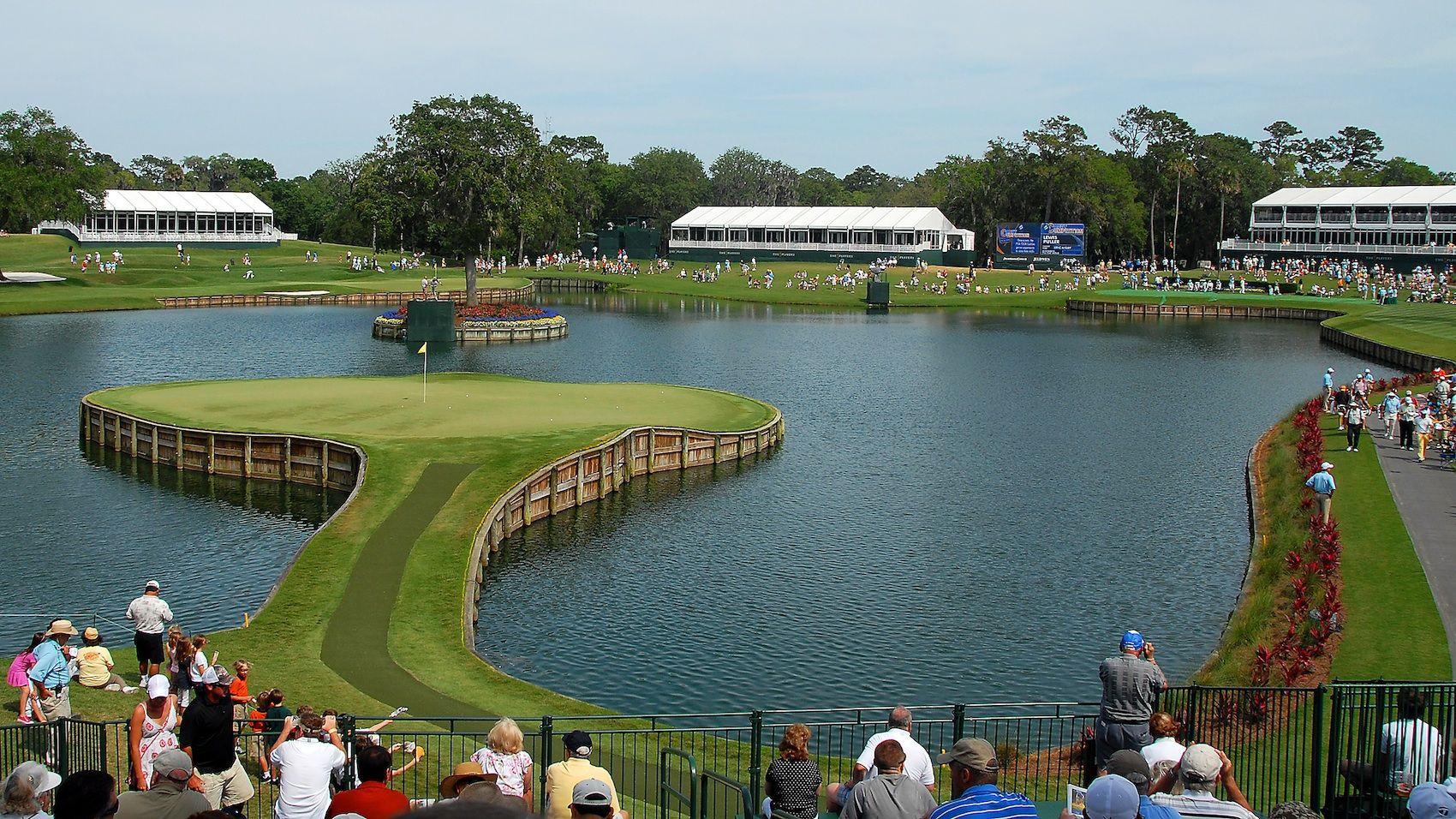 Tpc Sawgrass Hole 17 Stadium Courses Golf Courses