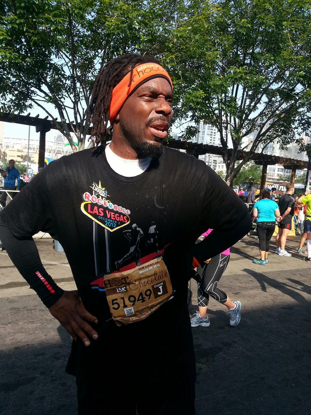 Looking SIRIUS in San Diego at the Hot Chocolate Run 15k/5k! I'm ...