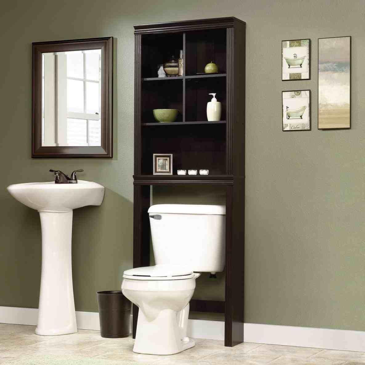 New Post bathroom over the toilet storage visit ...