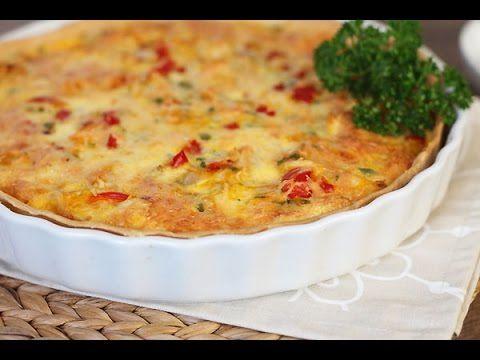 Quiche au poulet et l gume blog cuisine marocaine - Recette de cuisine quiche au poulet ...