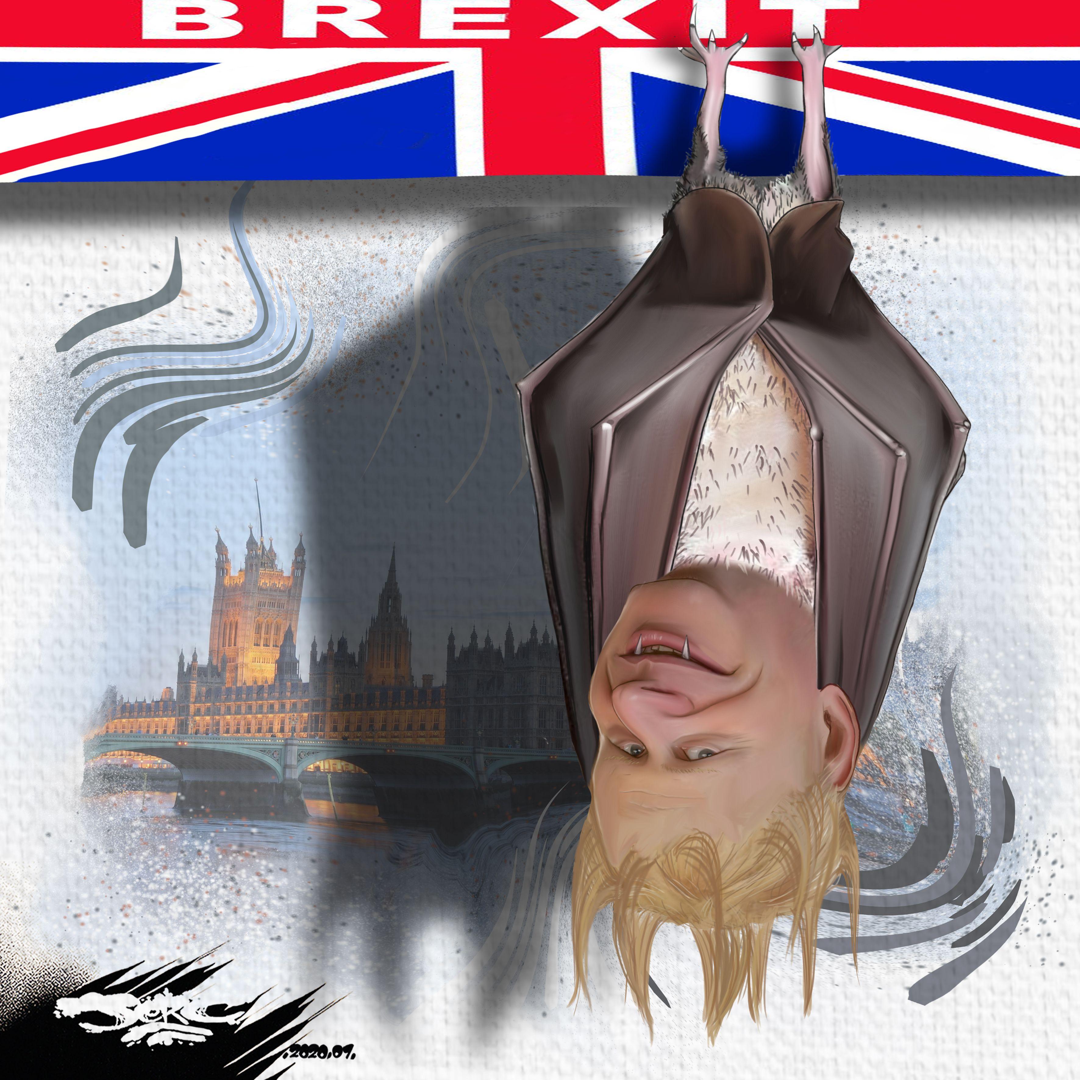 Dessin De Jerc Du Jeudi 30 Janvier 2020 Caricature Boris Johnson