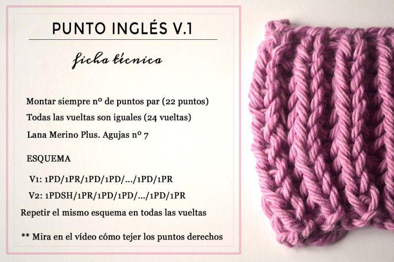 Punto Inglés Yes Of Course Pearl Knitter Puntos Faciles Para Tejer Tejidos De Punto Puntos Para Tejer