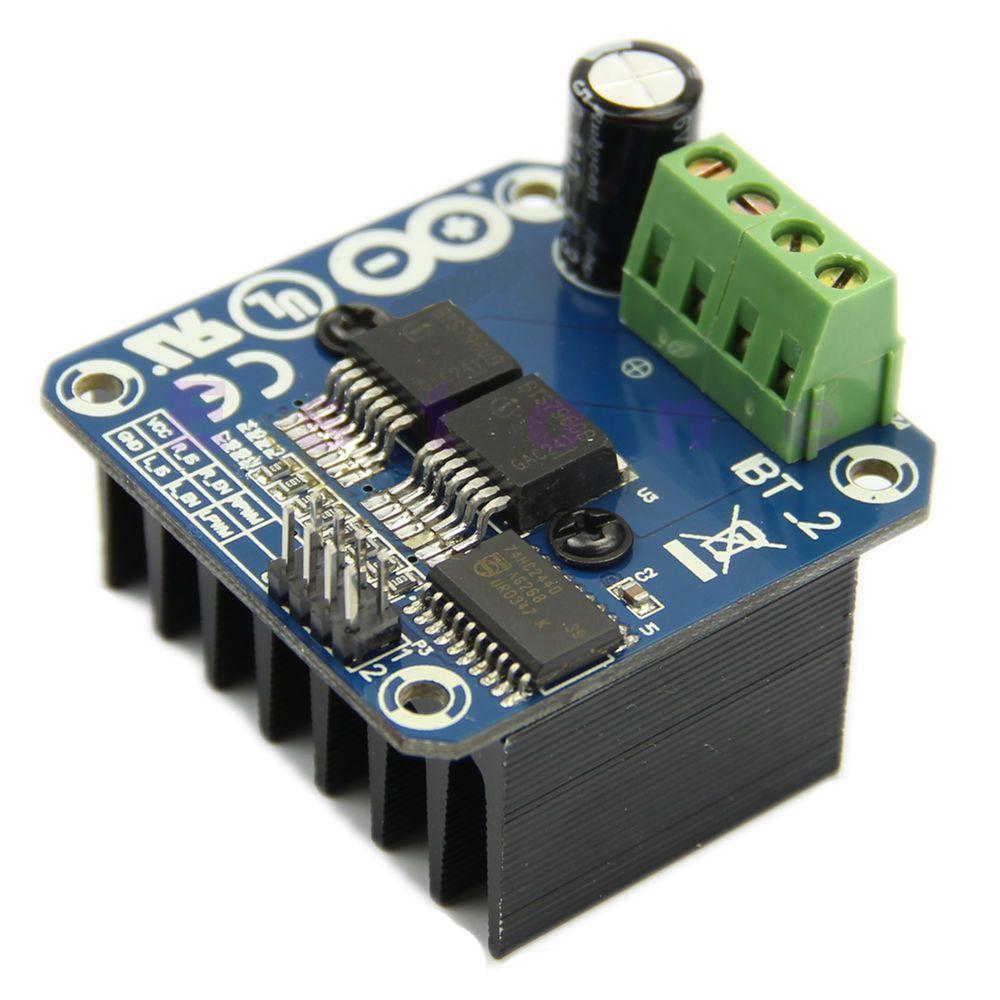 Semiconductor Motor Driver Auto BTS7960 43A H-Bridge PWM Drive For Arduino T2S5