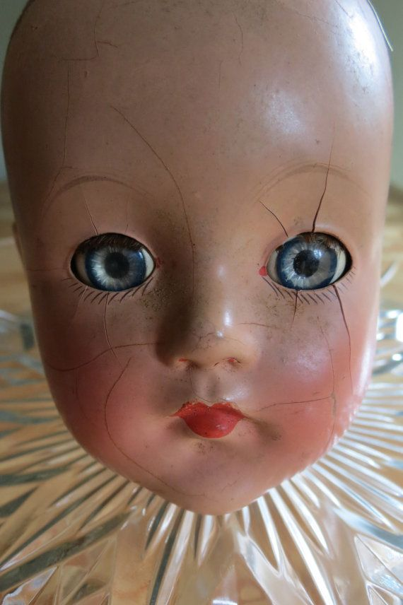 Vintage / Antique Effanbee Composition Doll by RighteousRecycling