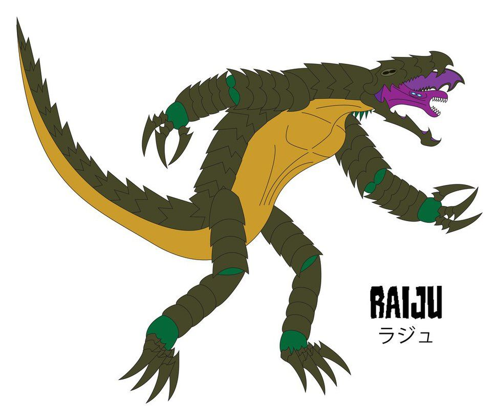 The Pacific Rim Raiju Kaiju Art Pacific Rim Neon Genesis Evangelion In 2013, the precursors opened a portal between dimensions at the bottom of the pacific ocean, allowing the kaiju to enter earth's dimension. the pacific rim raiju kaiju art