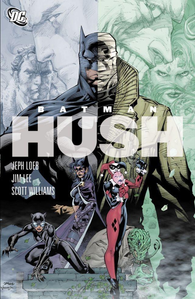 Batman The Complete Hush Romance Grafico Batman Hush Filmes