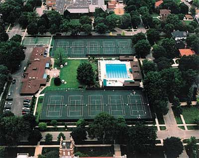 River Forest Tennis Club From Above World Of Sports River Forest Tennis Clubs
