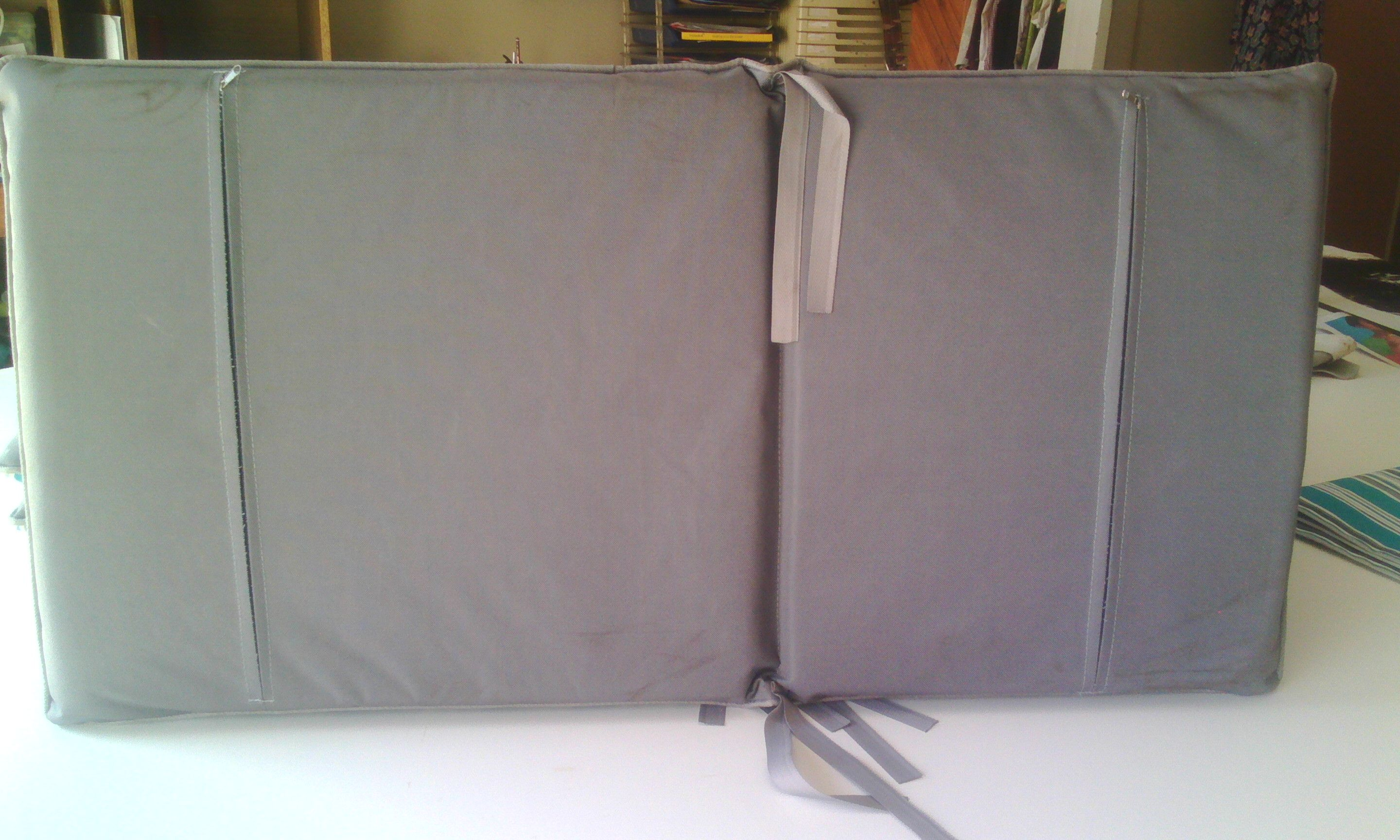 canvas fabric uv protected semi waterproof scotch guarded zips and