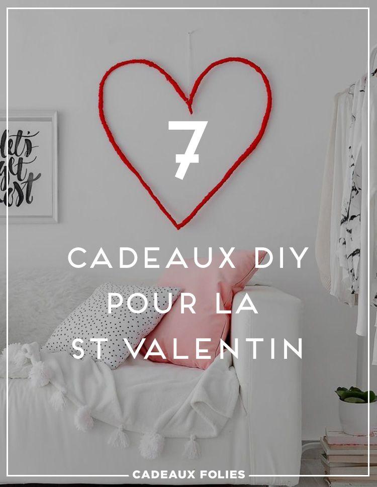 7 Idees De Cadeau Saint Valentin A Faire Soi Meme Idee Cadeau