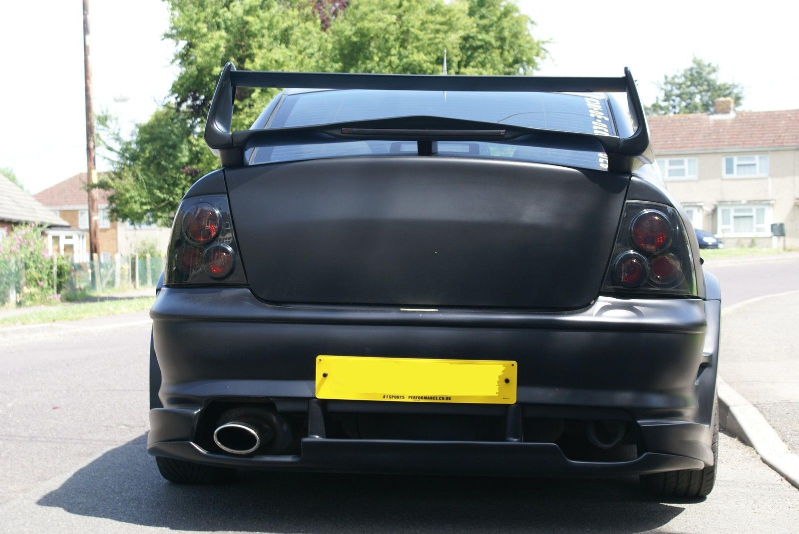 Vauxhall Vectra B Preface Flushed bootlid from saloon GSI | eBay ...