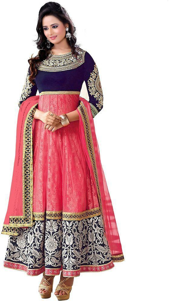 2b43aa109 Style Mania Brasso Embroidered Semi-stitched Salwar Suit Dupatta Material  Price in India - Buy Style Mania Brasso Embroidered Semi-stitched Salwar  Suit ...