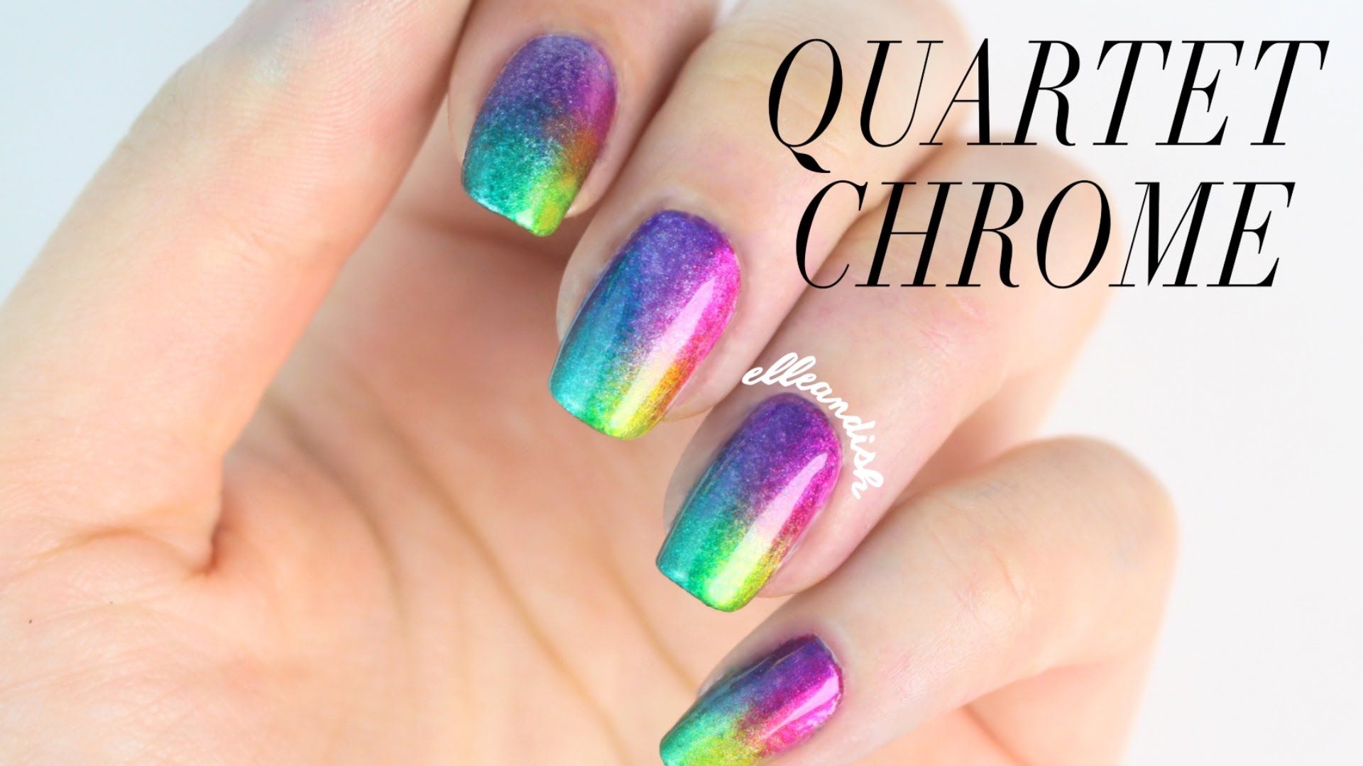 Rainbow Quartet Chrome Formula X Infinite Ombr