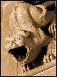 Image result for gargoyles face
