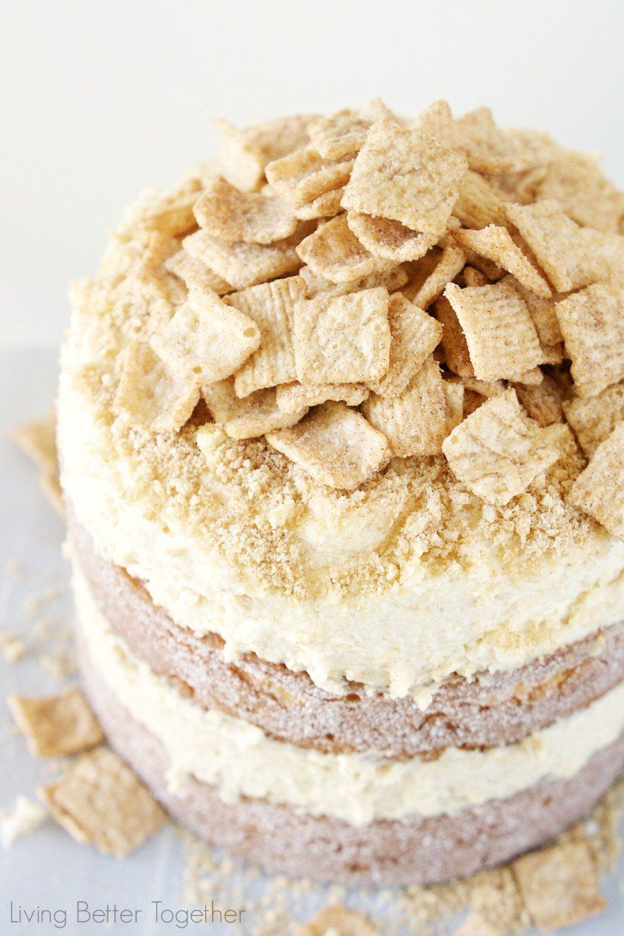 Cinnamon Toast Crunch Cake | Sugar and Soul
