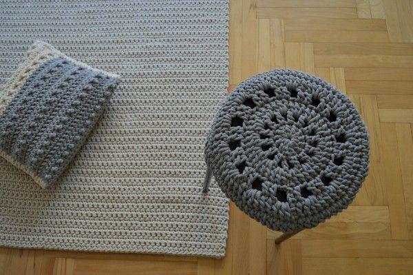 Kwadratowy I Naturalny 120x120 Crochet For Home