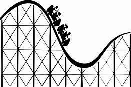 Roller Coaster Clip Art Bing Images Silhouette Cutter Roller Coaster Clip Art