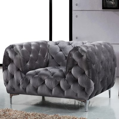 Brayden Studio Kamden Chesterfield Armchair Products
