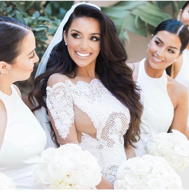 Gallery Prettiest Real Bride Wedding Hairstyles: Wedding Hair Down, Bride