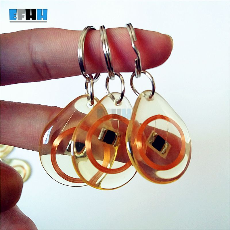 13.56MHZ ISO14443A 1K FM11RF08 Cloth RFID Festival Wristband