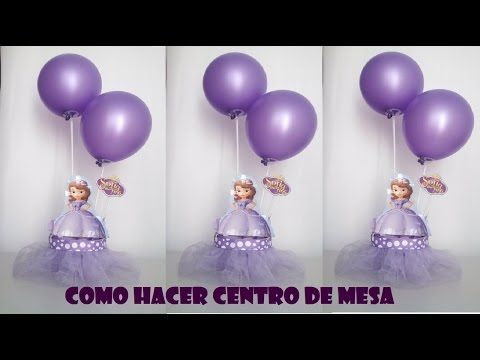 5c37e5712 COMO HACER DULCERO PRINCESITA SOFIA TUTU facil - YouTube