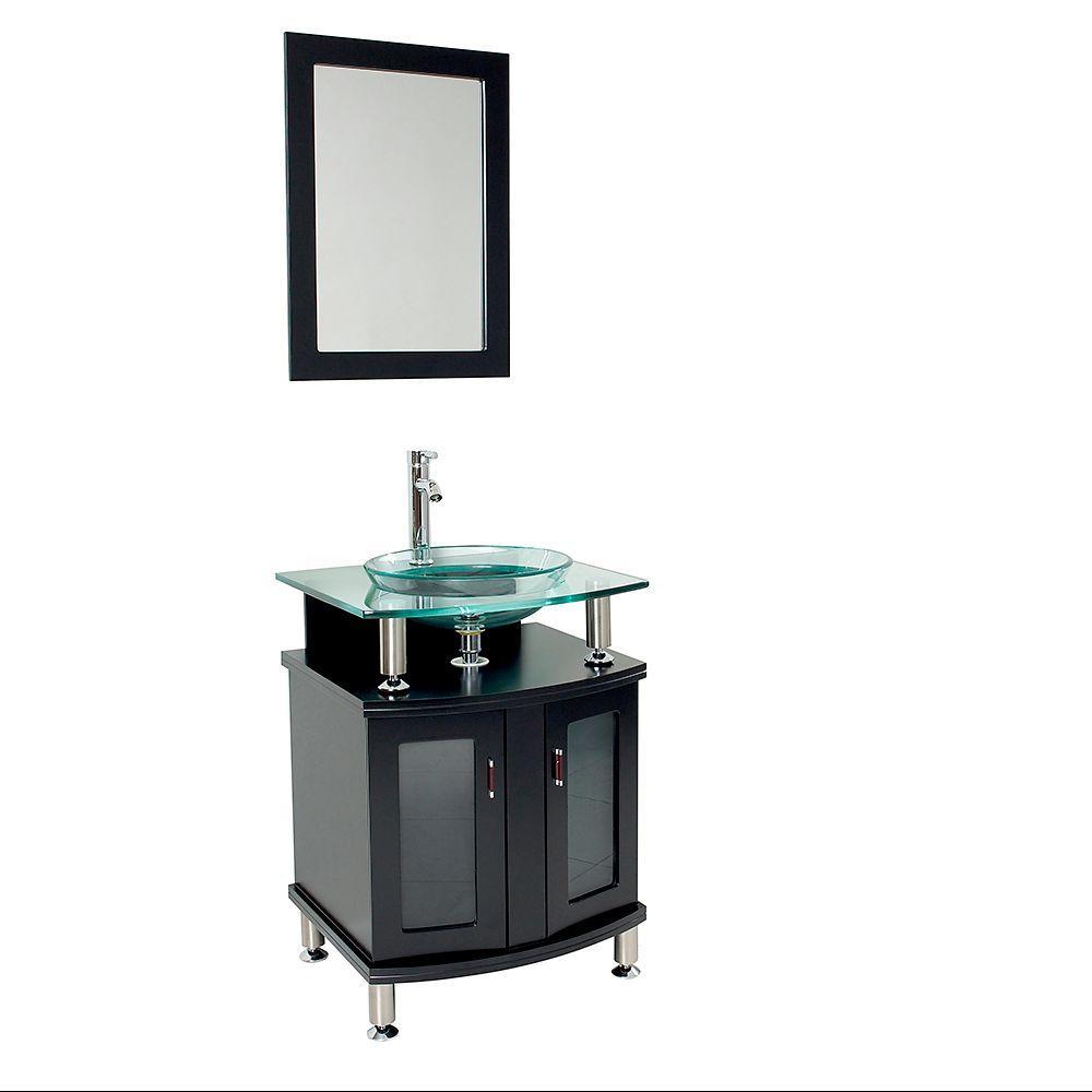 Glass Vanity Top