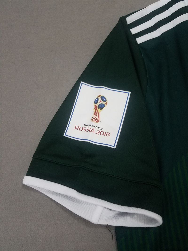 2014 world cup mexico 10 g.dos santos home soccer long sleeve shirt kit 81b8221e6