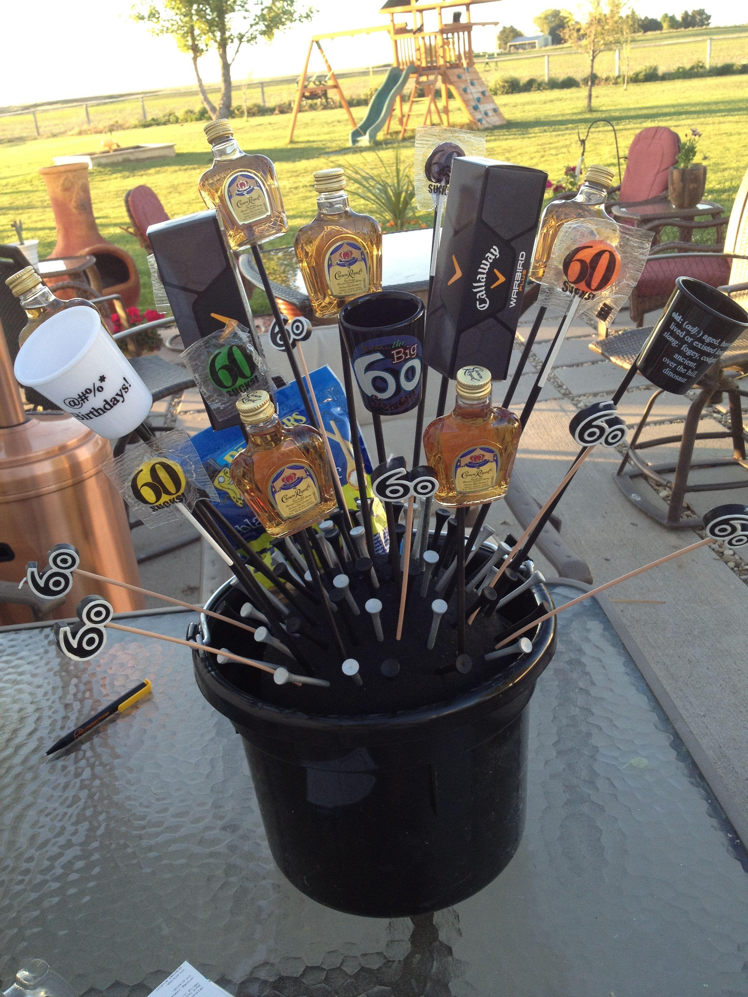 60th birthday golf gift birthday birthday gag gifts